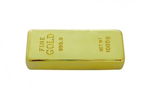 Memoria USB Gold Bar
