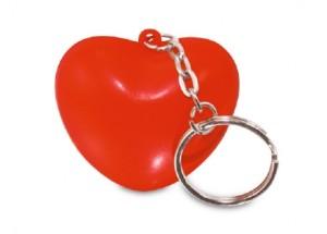 Antiestrés Llavero Corazón