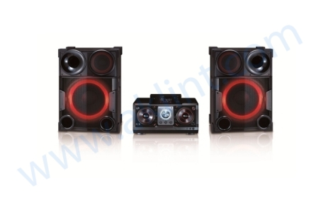 """Minicomponente """"DJ en Casa"""""""