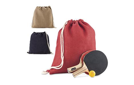 Sporty Bag en Yute
