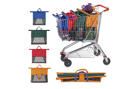 Set De Bolsas en Cambrel Para Mercado