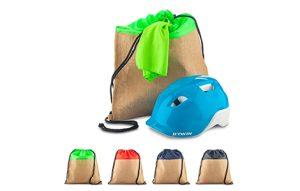 Sporty Bag en Yute y Poliester