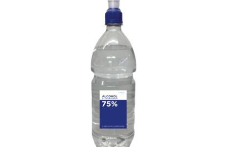 Alcohol Glicerinado al 75% – Envase 1000ml