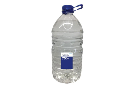 Alcohol Glicerinado al 75% – Envase 5 Litros