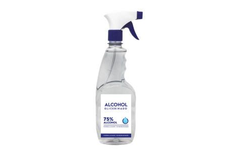 Alcohol Glicerinado al 75% – Envase Atomizador 500ml