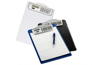 Calculadora con tabla para anotar