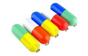 Memoria USB Cápsula