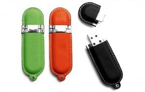 Memoria USB Forrada en Cuero