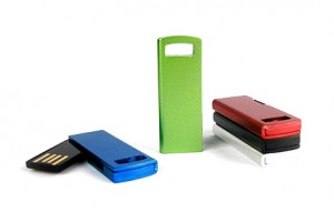 Memoria USB Plana Swivel Color