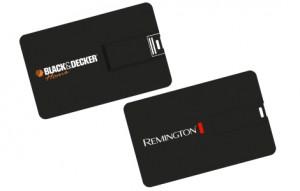 Memoria USB Tarjeta Negra
