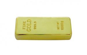 Memoria USB Gold Bar