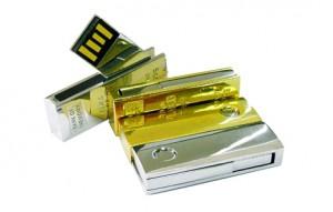 Memoria USB Swivel Metálica