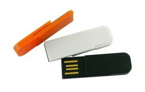 Memoria USB Clip Plástico