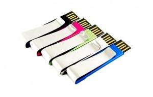 Memoria USB Clip Aluminio