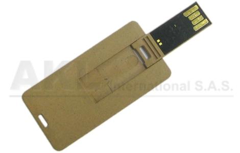 Tarjeta USB en Fibra Vegetal