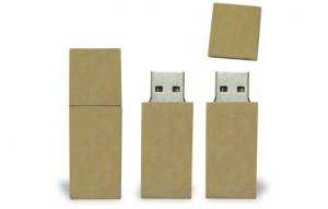 Memoria USB en Totumo