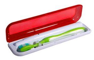 Estuche con Esterilizador para Cepillo Dental