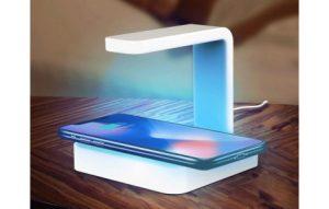 Cargador Inalámbrico con Esterilizador UV